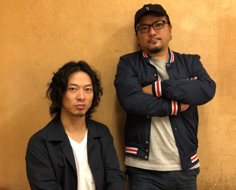 稲葉 茂(水戸ライトハウス)・山田 将司(THE BACK HORN)